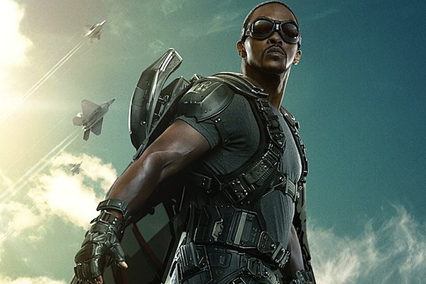 New 'Captain America 2' Poster of Anthony Mackie's Falcon