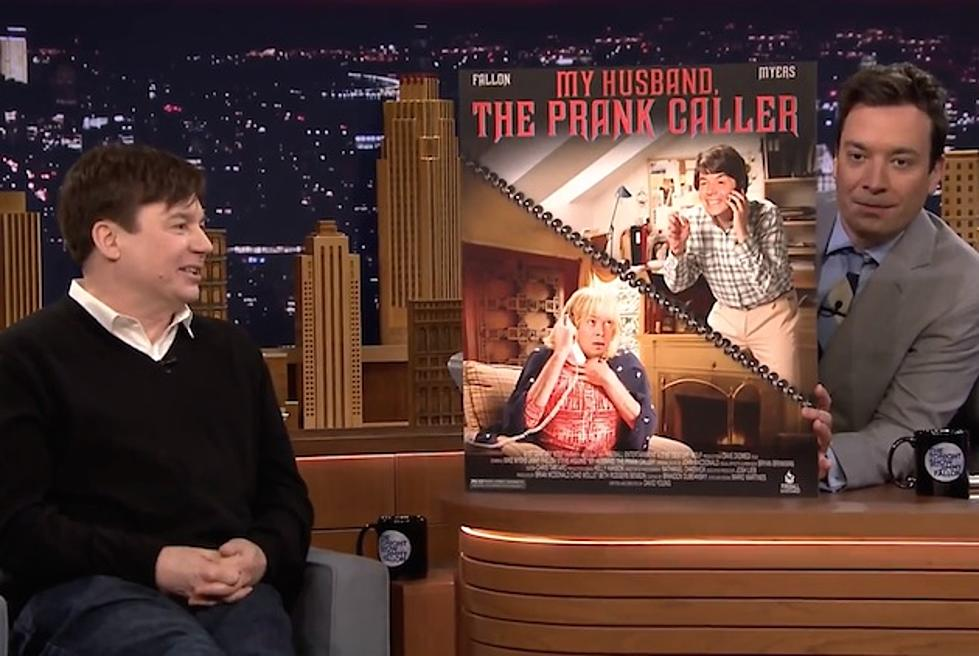 Jimmy Fallon Unveils His Made-for-TV Movies With Mike Myers