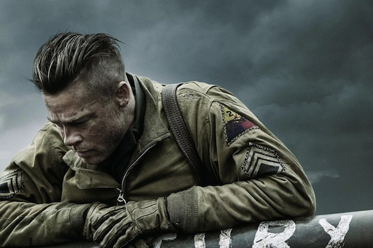 The Wrap Up: Brad Pitt Holds Onto 'Fury' In This New Poster