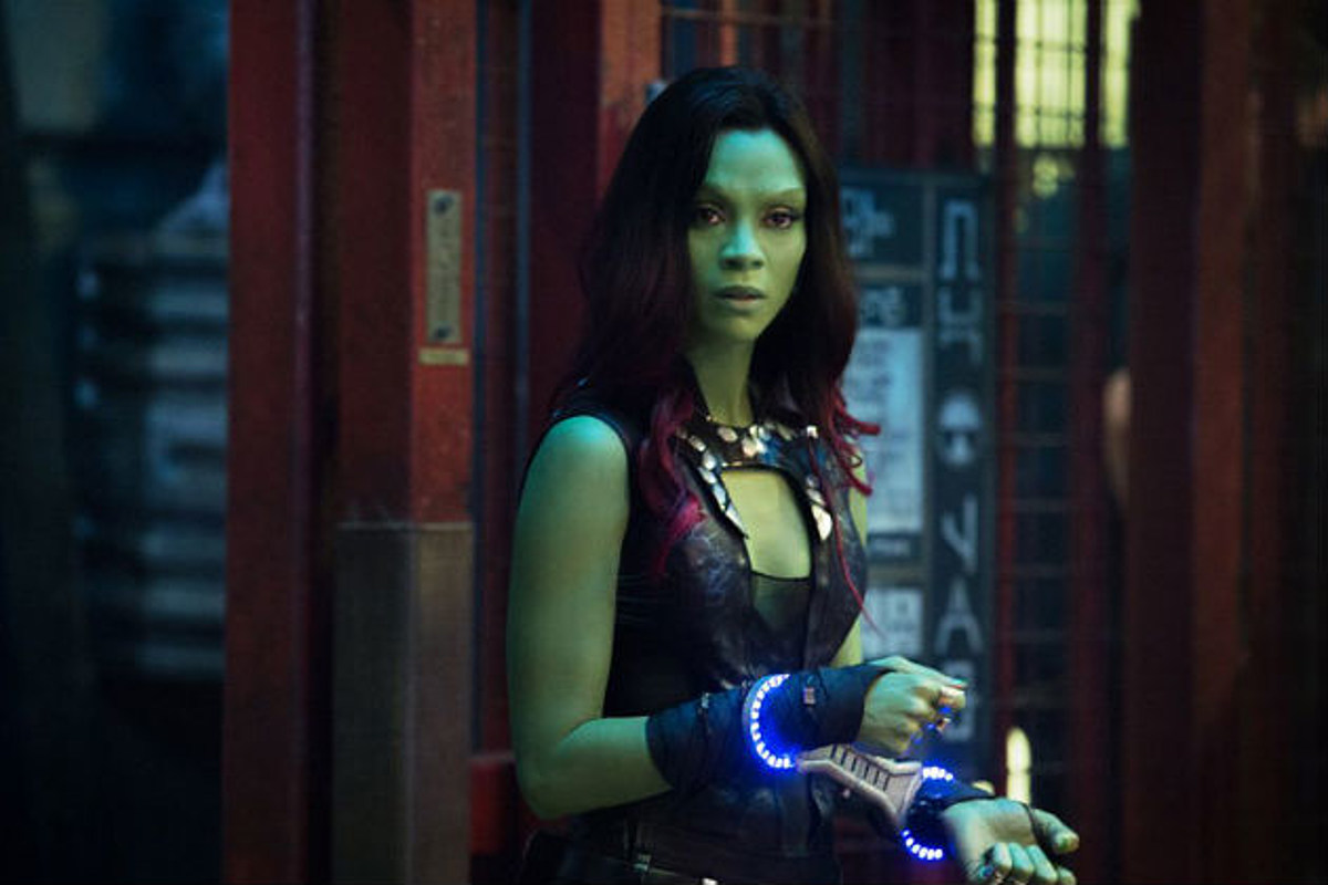 Guardians Of The Galaxy: 10 Most Shameless Things Gamora