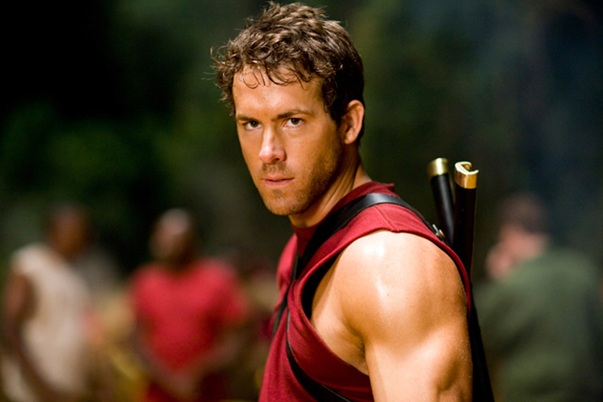 Welcome To Ryan Reynolds Gun Show In This DEADPOOL