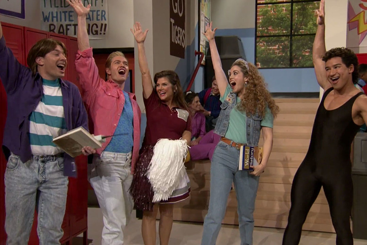 Jimmy Fallon Recreated 'Saved By the Bell' With the Old Cast
