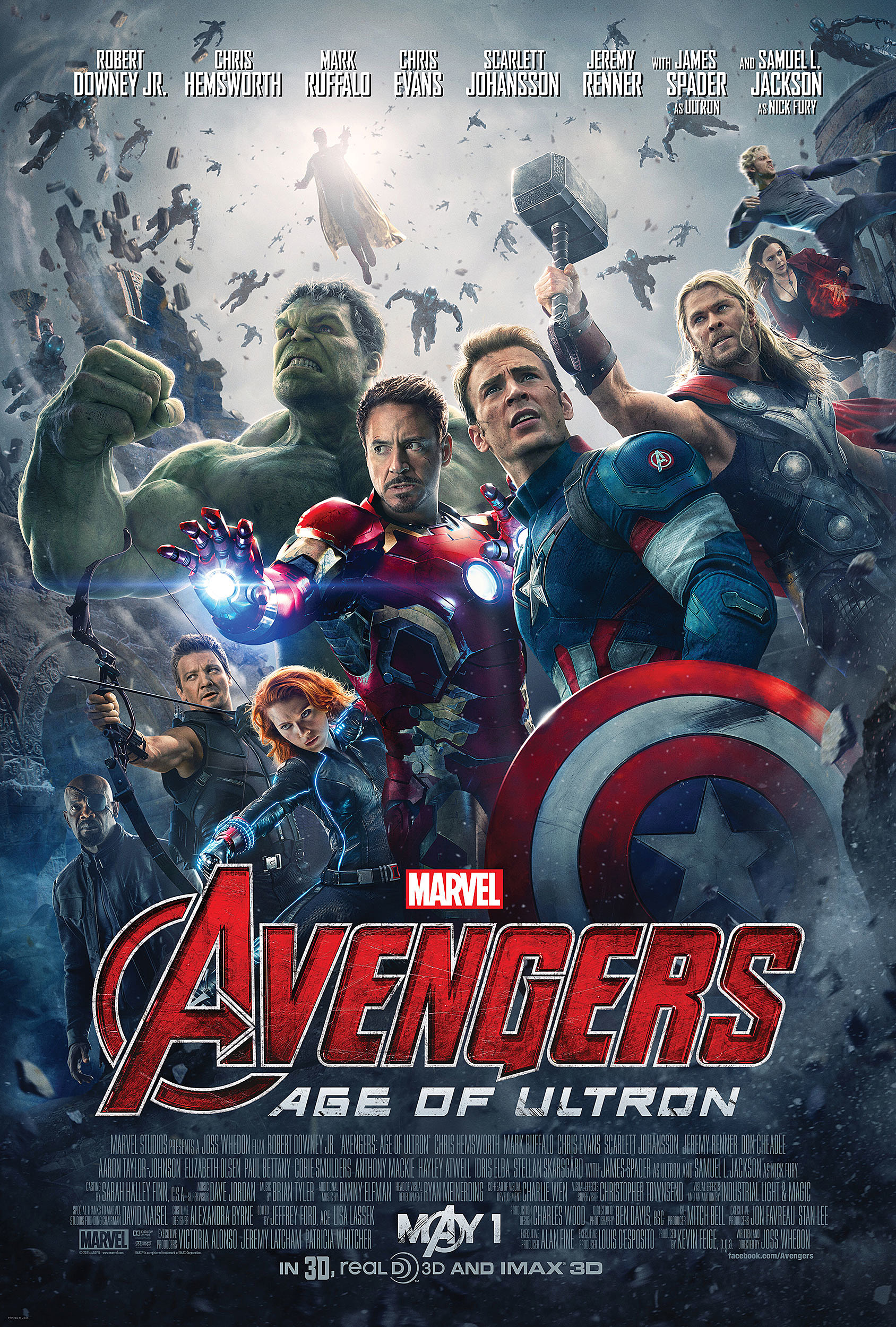 Dissecting Those New 'Avengers 2' Posters