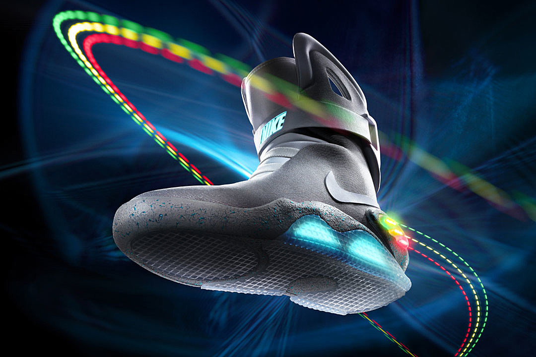 finest selection 9c9aa b307a Nike Officially Reveals Self-Lacing  Back to the Future  Sneakers