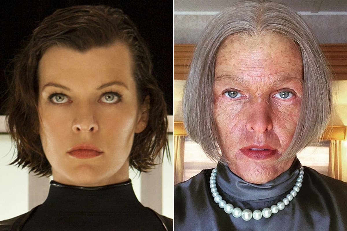 Milla Jovovich Posts Old Alice Photo From Resident Evil The