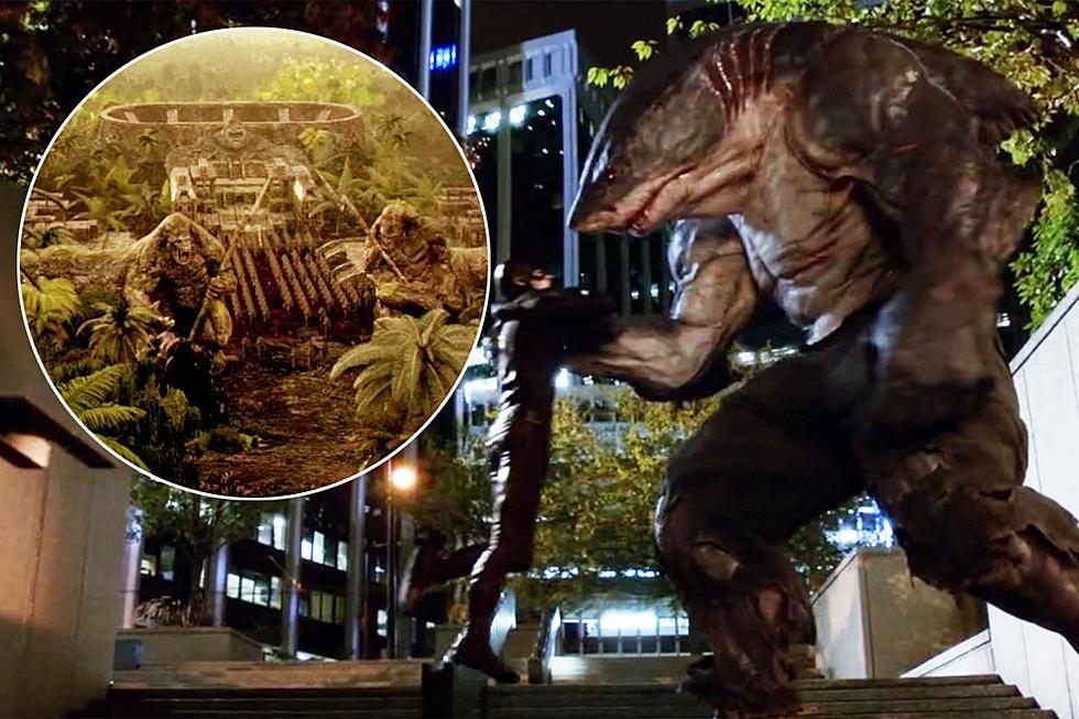 Flash' FX Reel Shows King Shark, Hawkman, More Gorilla City