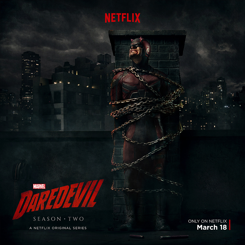 Daredevil Season 2-Marvel comics série tv Punisher Wall Art Toile Photos