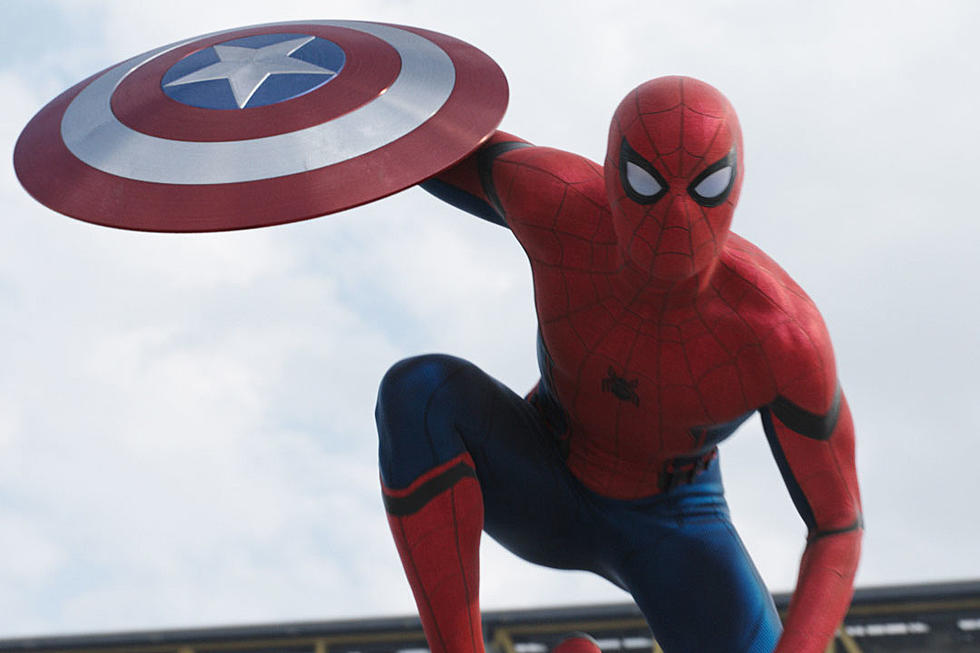 Spider-Man Fights Winter Soldier in New 'Captain America