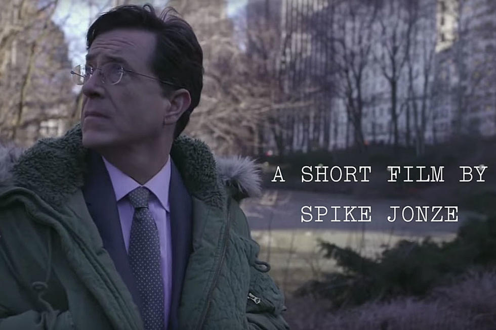 Spike Jonze Directed a New Short Film With Stephen Colbert