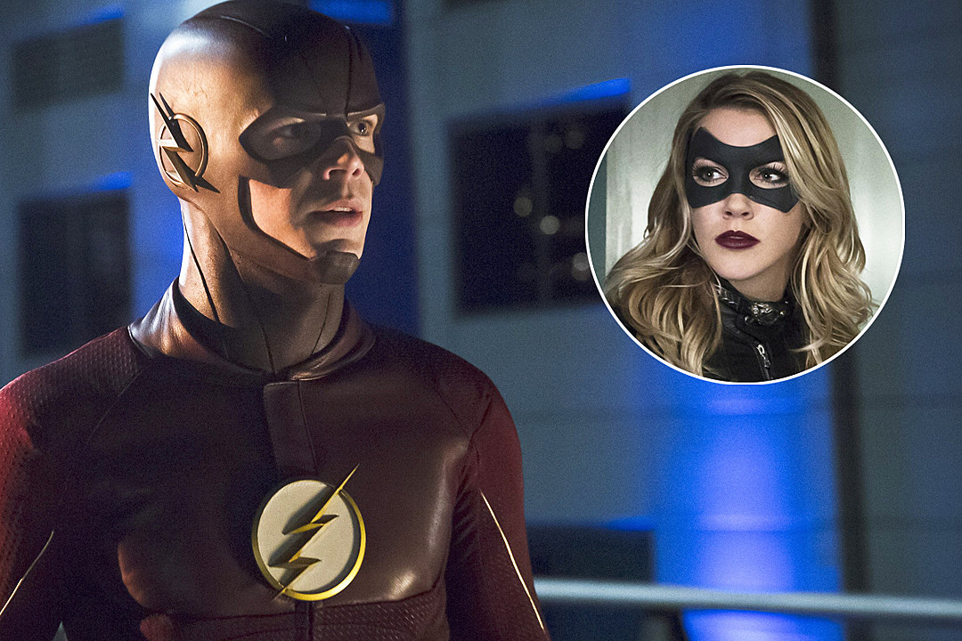 The Flash Will Meet Katie Cassidy S Earth 2 Black Canary