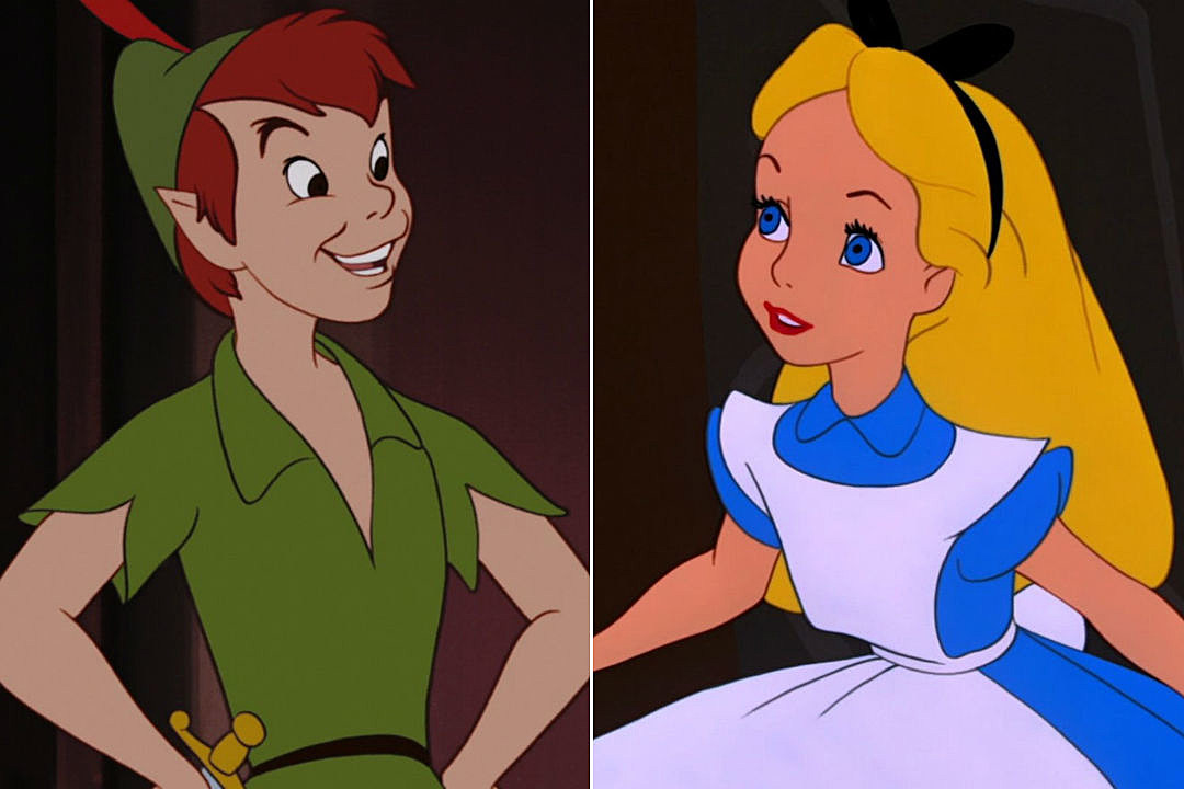peter pan and alice in wonderland fanfiction