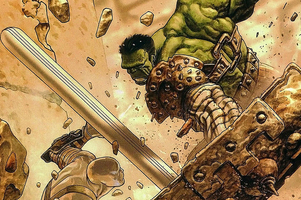 Marvel Reveals Planet Hulk Armor For Thor Ragnarok