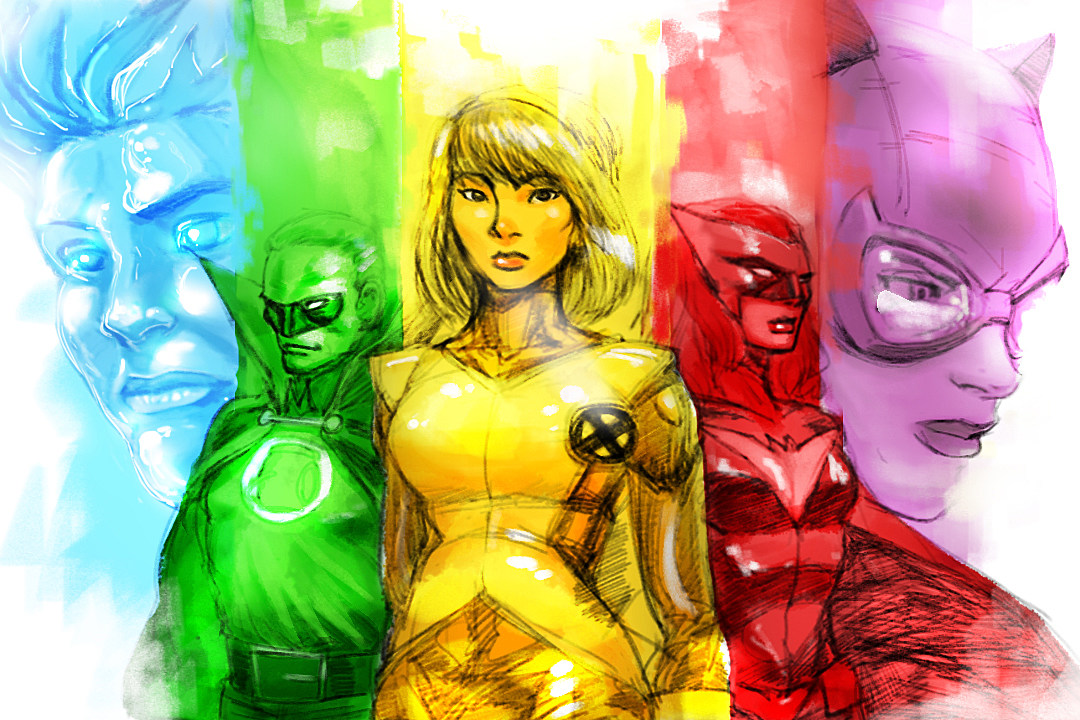 Are bisexual superheroes stories share your