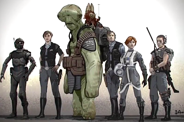 Star Wars Rogue One Panel Report From Star Wars Celebration