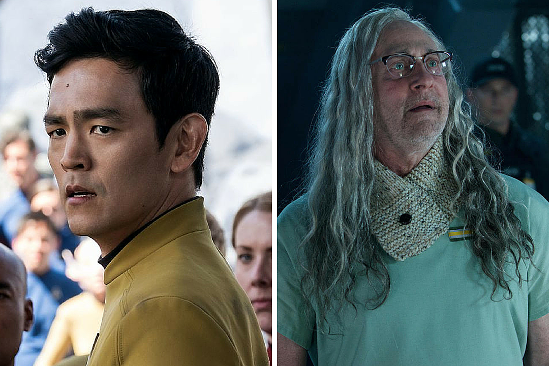 Star trek beyond's john cho reveals that a kiss between sulu and partner was edited out