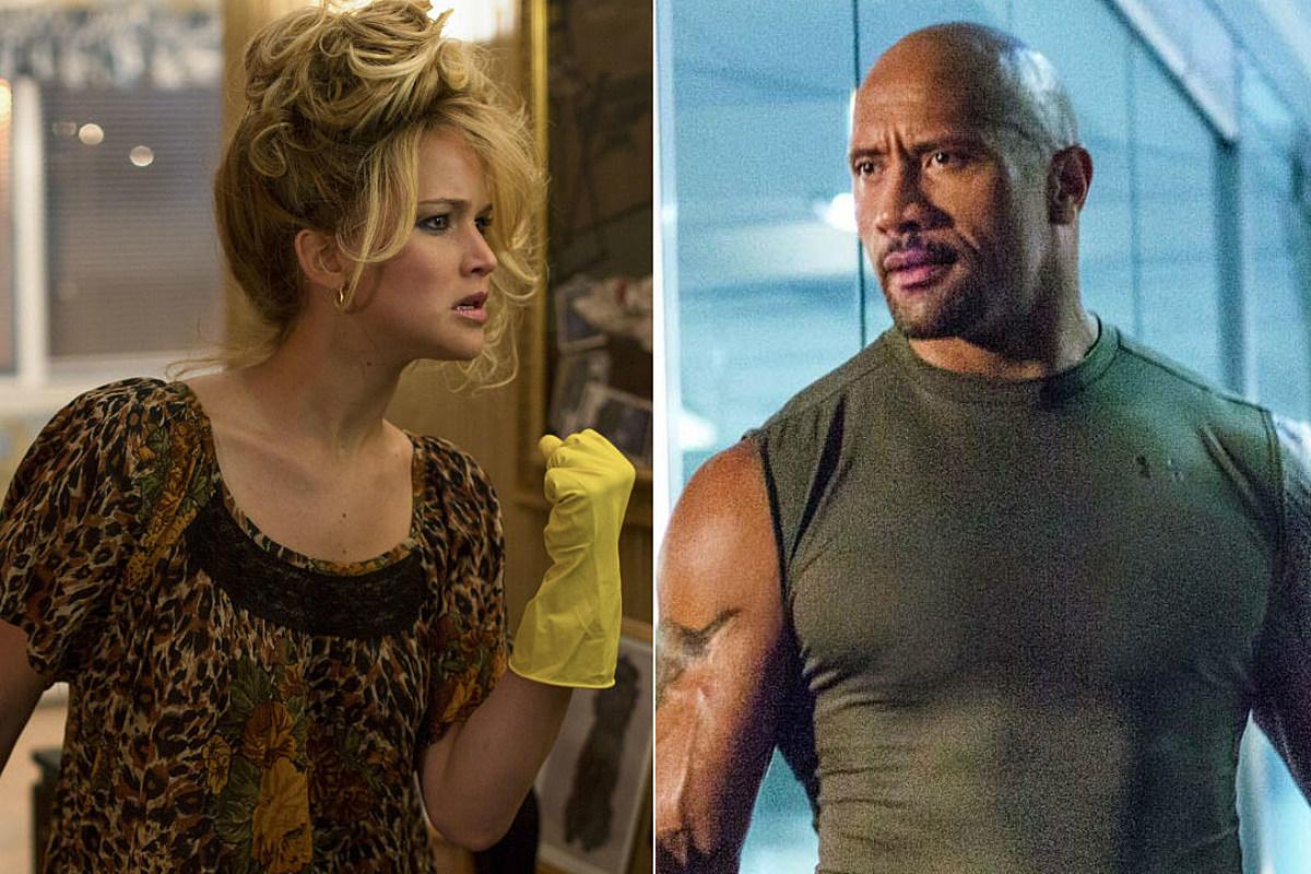 Jennifer Lawrence, Dwayne Johnson Top Highest Paid List