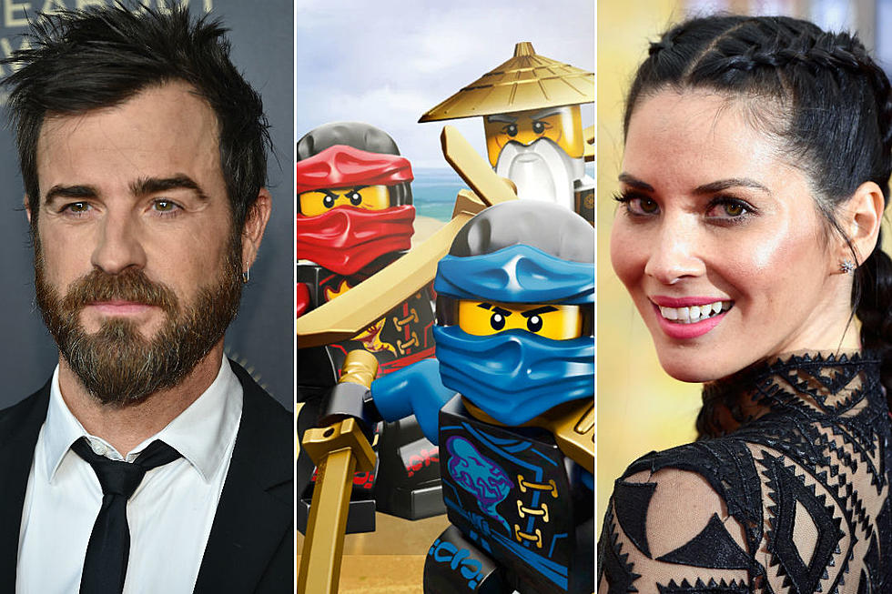 The LEGO Ninjago Movie' Adds Justin Theroux and Olivia Munn