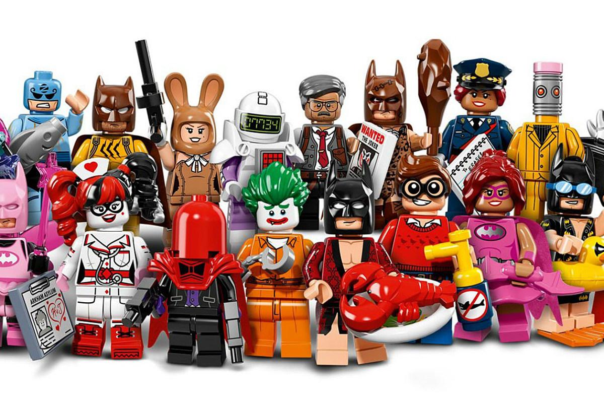 LEGO Batman Gets His Own 'LEGO Batman Movie' LEGO Minifigs
