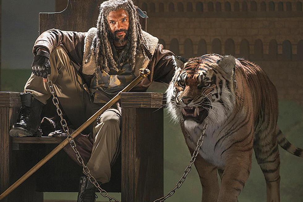 Walking Dead' Builds Shiva the Tiger in BTS Featurette