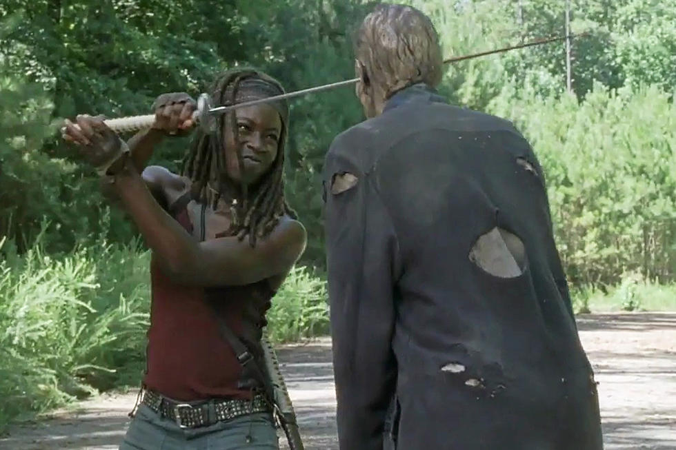 Walking Dead' Sends Michonne Out in 'Sing Me a Song' Clip