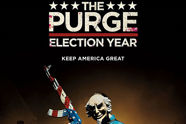The Purge Election Year Poster Wallpapers: Trump's 2020 Slogan Is Literally A Horror Movie Tagline