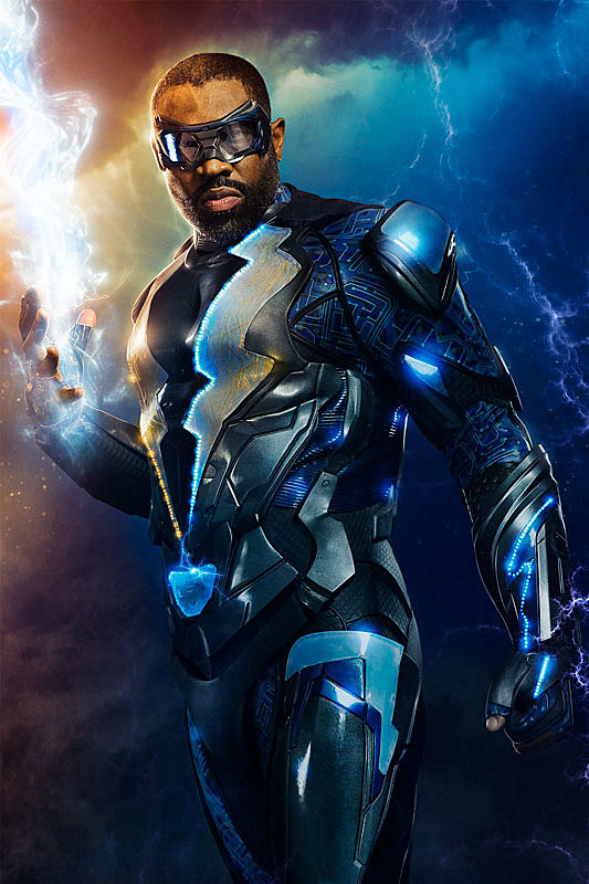 CW 'Black Lightning' Costume Revealed in Production Photo