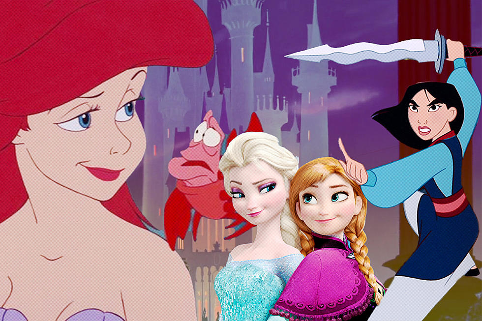 easy all disney princesses together