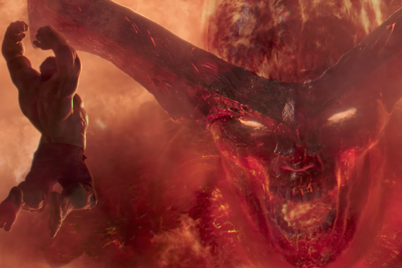 Marvel Reveals The First Look At Surtur S Fire Dragon From Thor Ragnarok