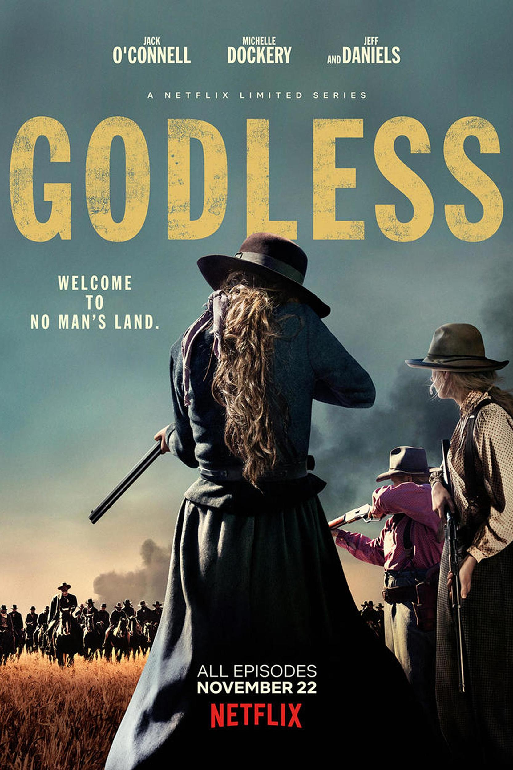 Why Is Netflix Marketing 'Godless' as a Series About Women?