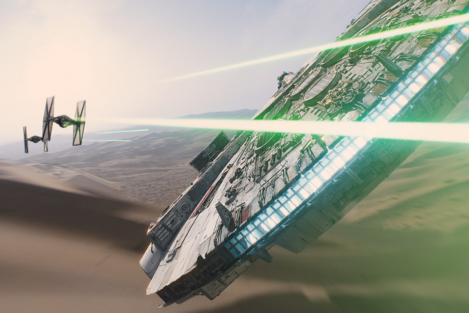Is This How the Millennium Falcon Transforms in 'Solo'?