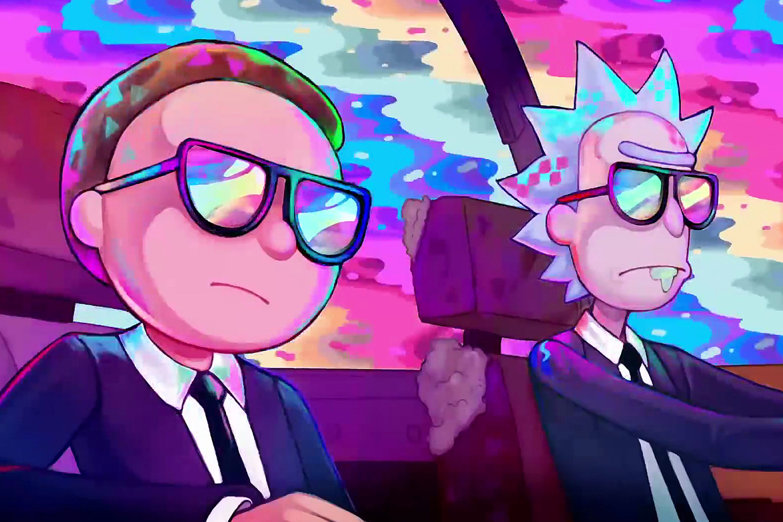 Rick and Morty' Return in New Deadmau5 New Year's Sketch