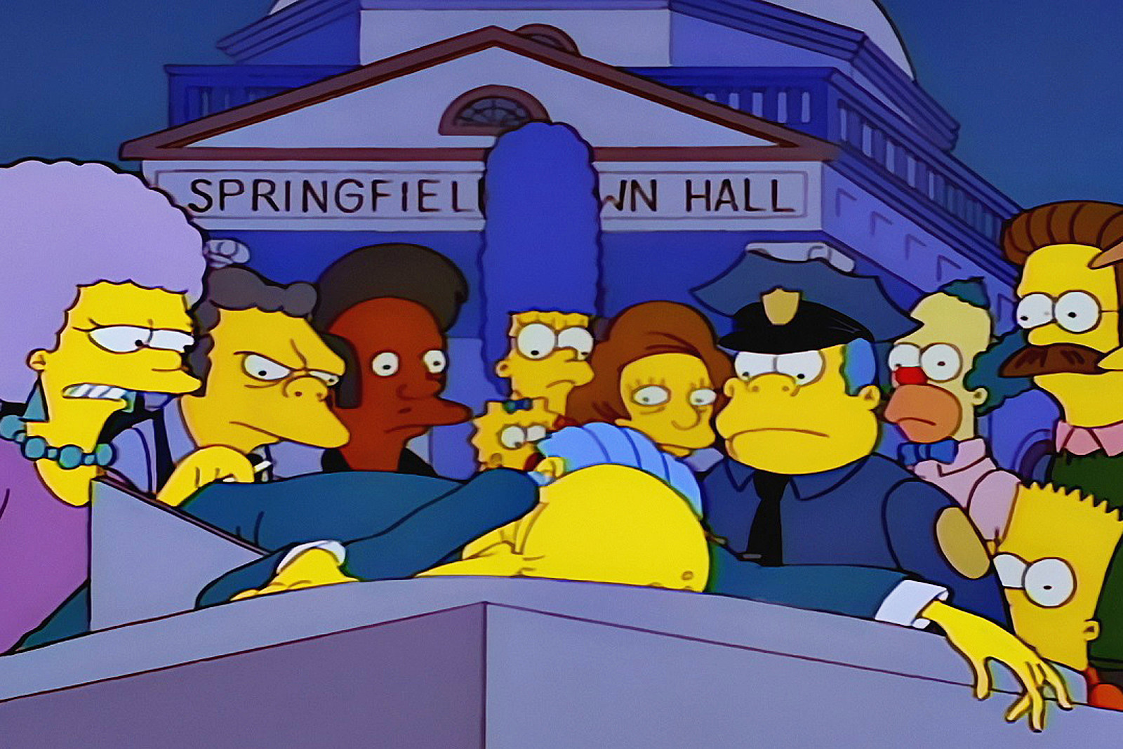 Elmos Vaccine Video Is Cutest Argument >> The Simpsons Almost Had Barney Shoot Mr Burns