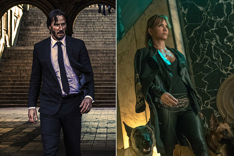 Halle Berry Takes The Dogs For A Walk In New John Wick 3 Photo