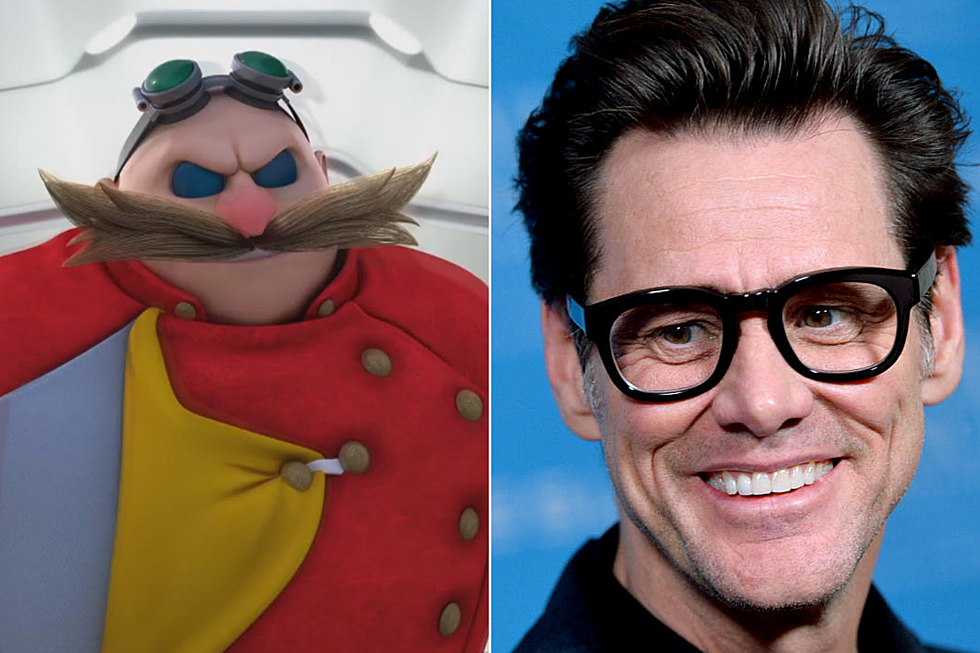 Jim Carrey Will Play The Villain In Sonic The Hedgehog Movie