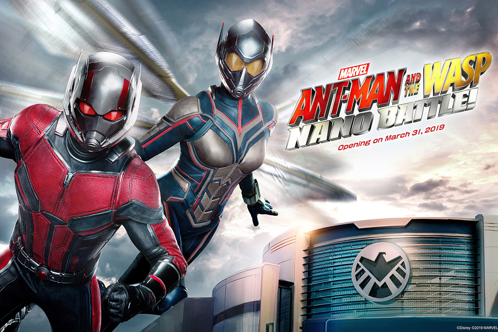 This Video Of Disneys Ant Man And The Wasp Ride Looks Amazing