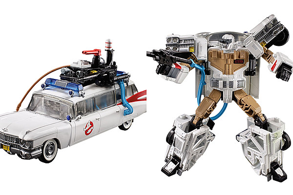 The Ghostbusters Ecto 1 Is Becoming A Transformer