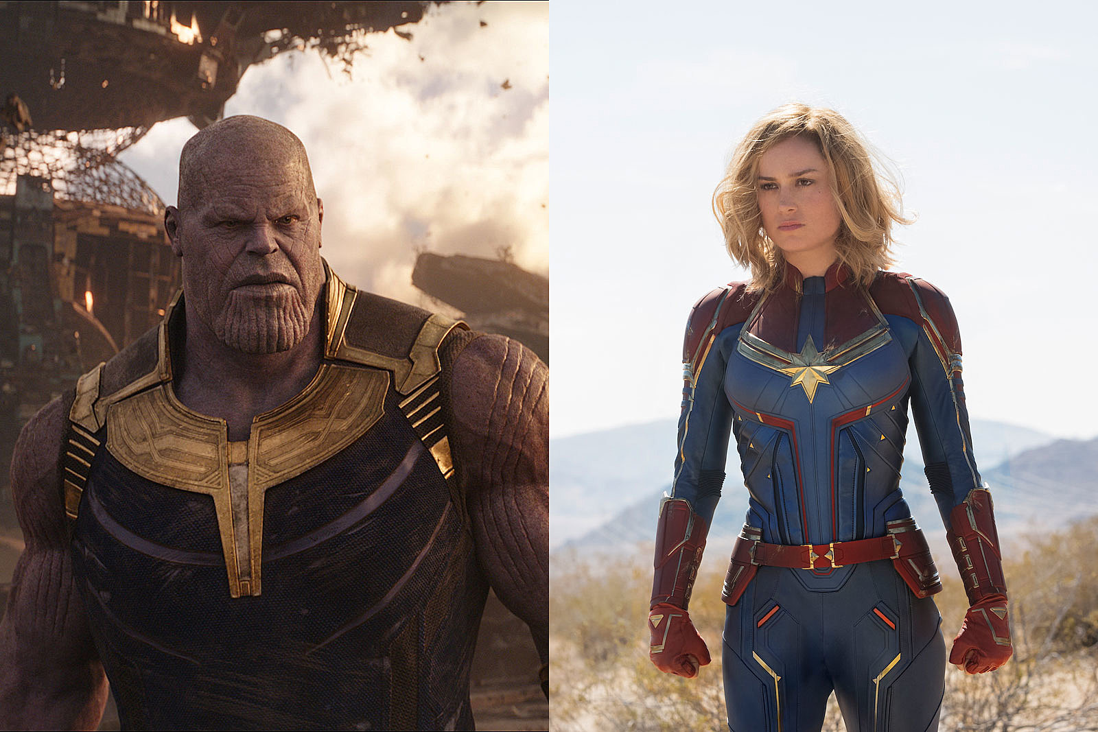 how will captain marvel beat thanos? her movie offers a huge clue