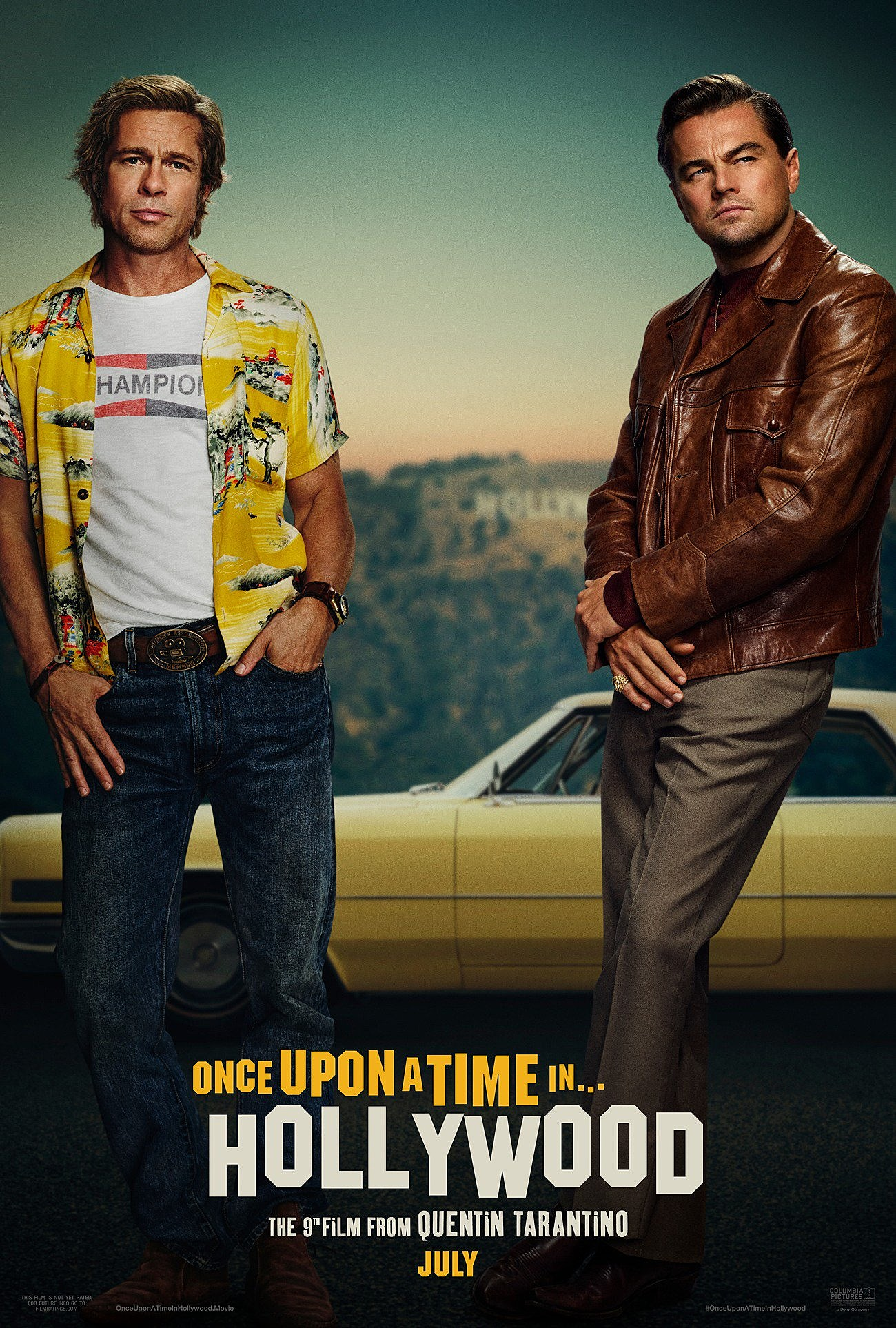 First 'Once Upon a Time in Hollywood' Poster Unveiled