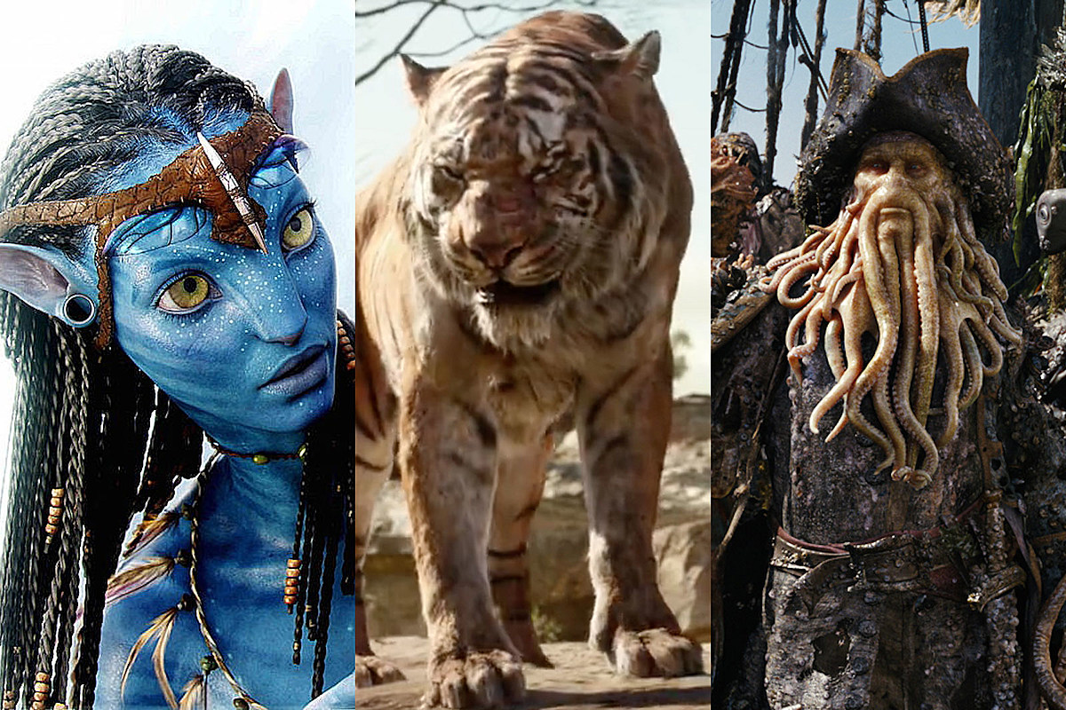 The Best CGI Characters in Movie History