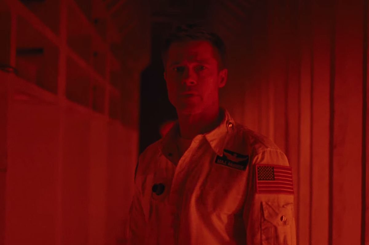 Brad Pitt Goes to Space in the 'Ad Astra' Trailer
