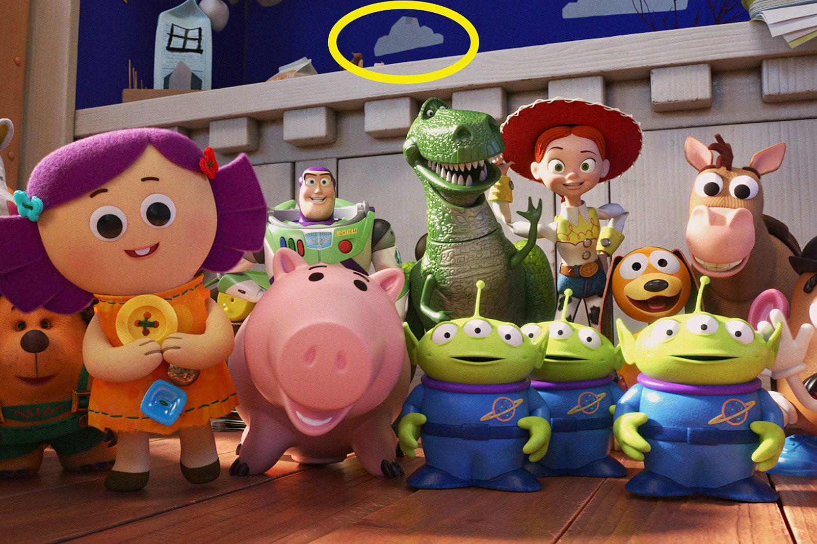 Disney Pixar It's A Celebration Series Toy Story Pin