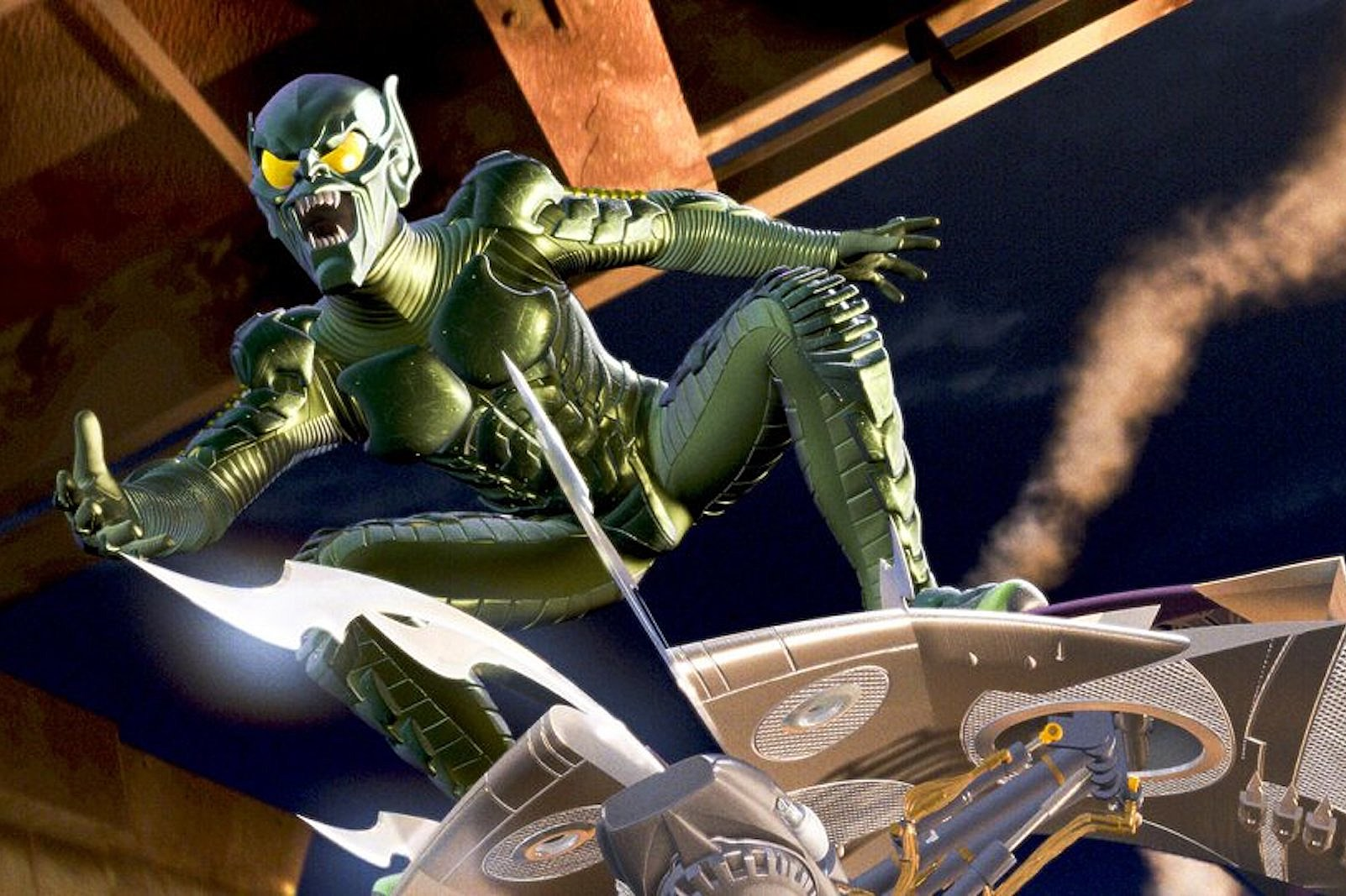 A French Inventor Created a Working Green Goblin Glider