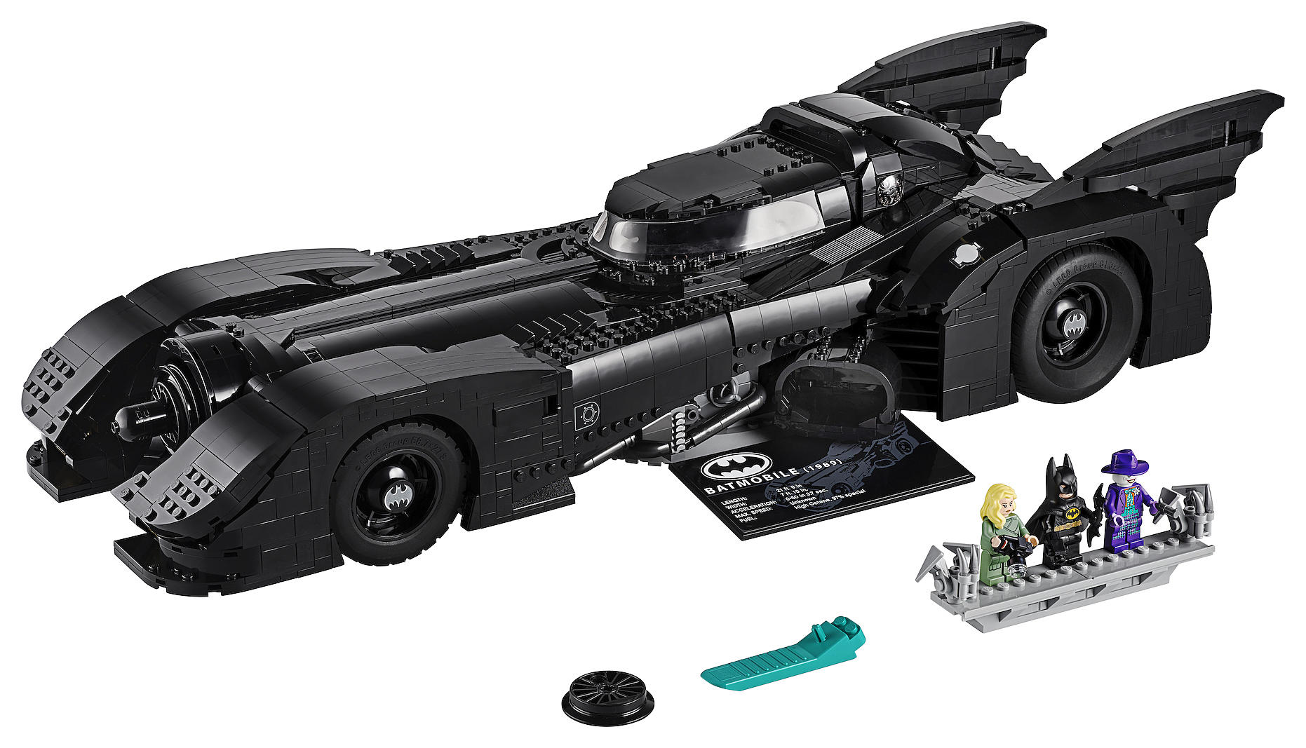 Image result for Here's how to get it, LEGO has made the most popular Tim Burton Batmobile
