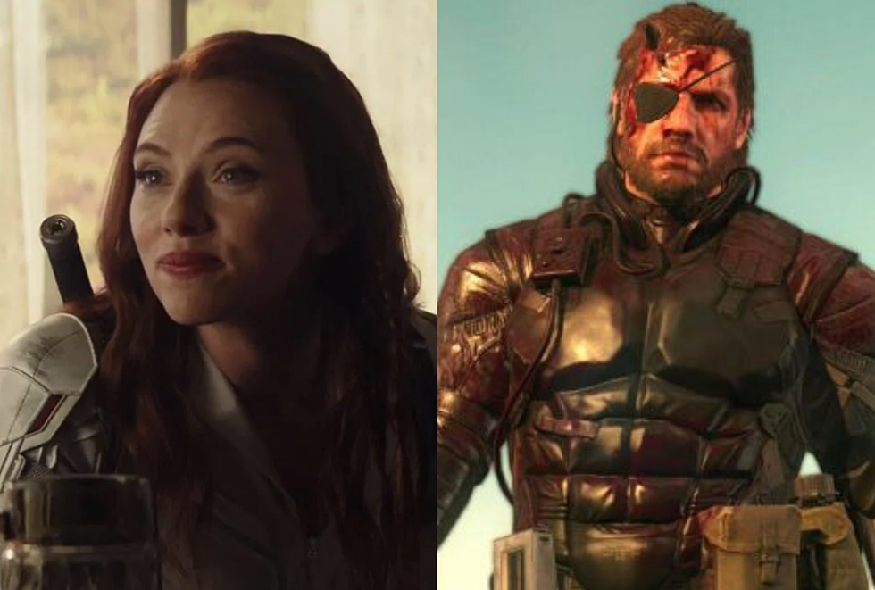 Metal Gear Solid Director Calls Out Black Widow On Likeness