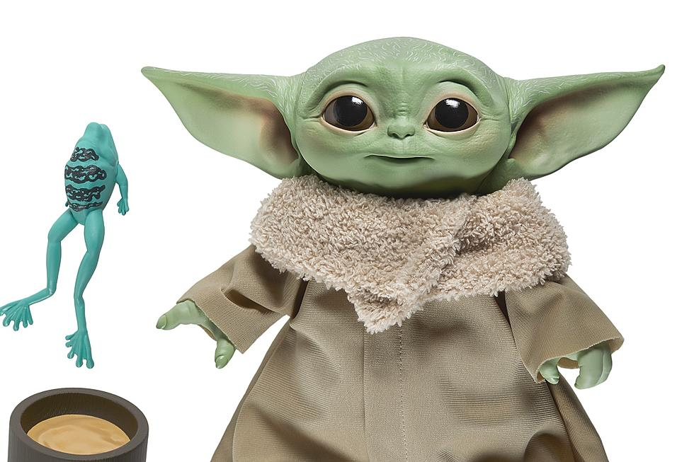 Adorable The First Baby Yoda Plush Toy Is