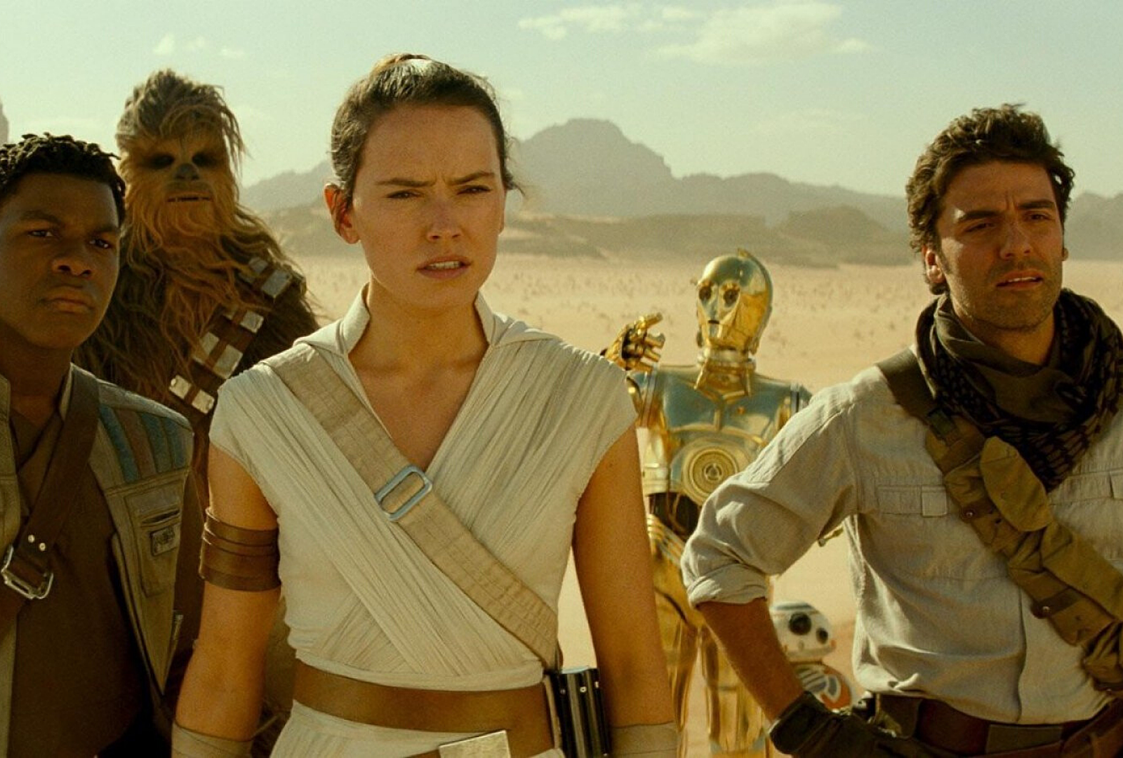 The Rise Of Skywalker Blu Ray Has A Ton Of Special Features
