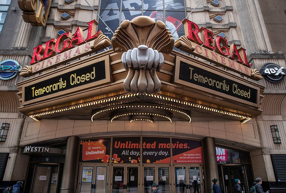Regal Will Close All Of Its Theaters Again