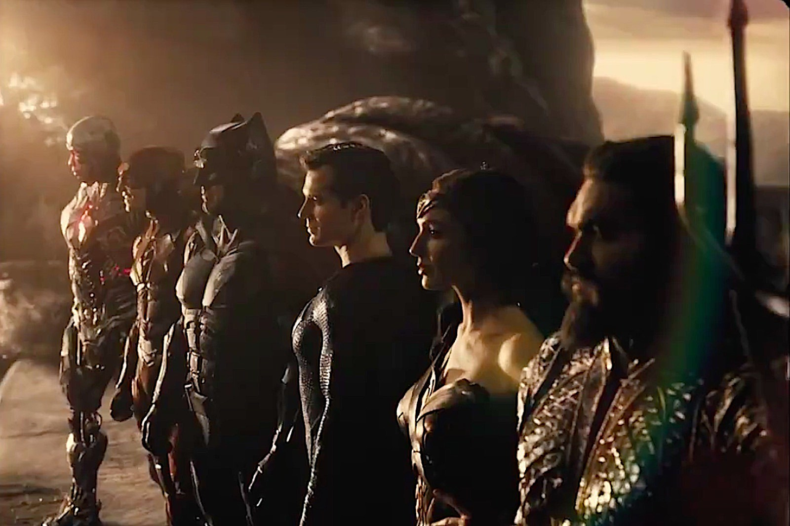 Hallelujah, Here's The First 'Justice League' Snyder Cut Trailer