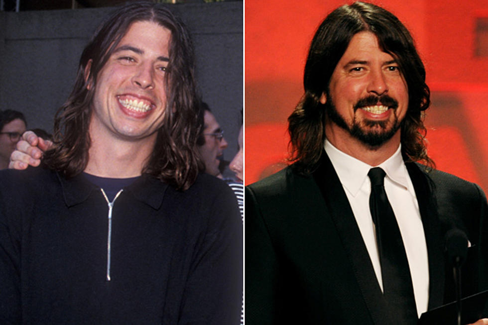rock stars then and now