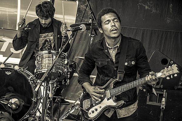 Benjamin Booker Brings His Garage Blues To Mountain Jam 2015